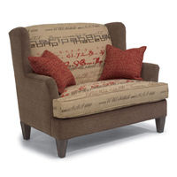 Settee  sc 1 st  Hickory Park Furniture : flexsteel leather sectional - Sectionals, Sofas & Couches