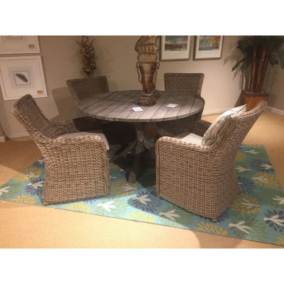 Brussels 50 Inch Dining Table And Chairs Bl50g Sh15d Kingsley Bate Sale Hickory Park Furniture