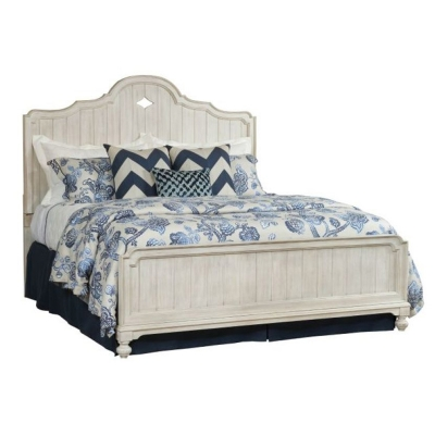 American Drew Laurel Panel Queen Bed Complete