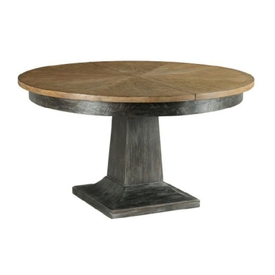 American Drew Laurent Round Dining Table Complete