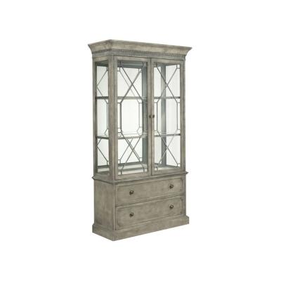 American Drew Larsson Display Cabinet Complete