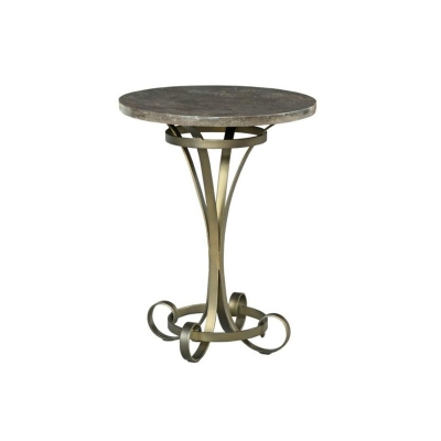 American Drew Louise Round Lamp Table