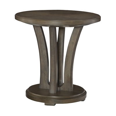 American Drew Round Lamp Table