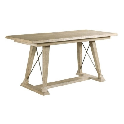 American Drew Clayton Counter Height Trestle Table Top