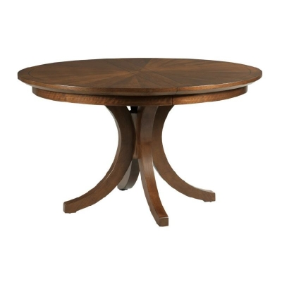 American Drew Warner Round Dining Table Complete