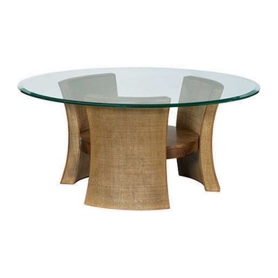 American Drew Round Cocktail Table KD