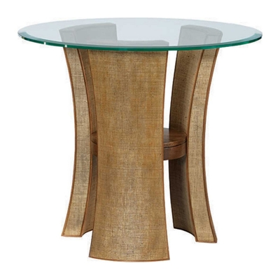 American Drew Round End Table KD