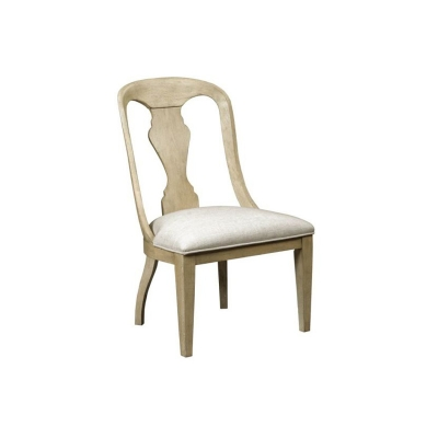 American Drew Whitby Upholstered Side Chair Driftwood