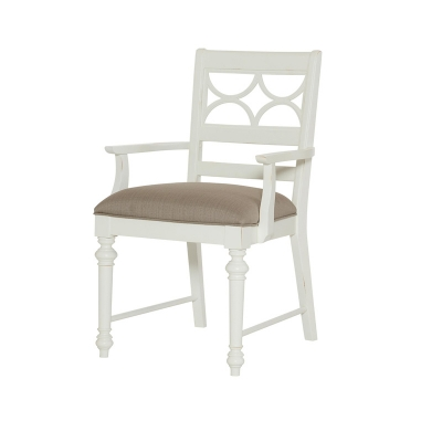 American Drew Fret Work Arm Chair