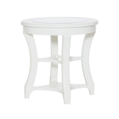 American Drew Round End Table