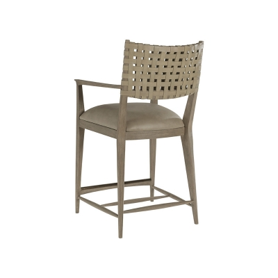 Artistica Home Leather Counter Stool