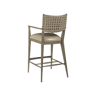 Artistica Home Leather Barstool