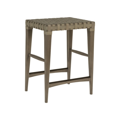 Artistica Home Leather Backless Counter Stool