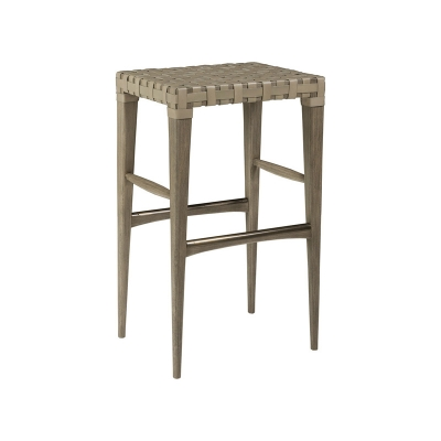 Artistica Home Leather Backless Barstool