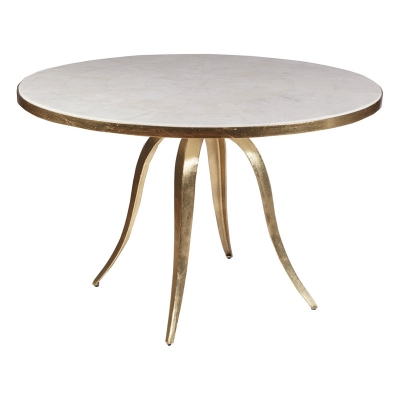 Artistica Home Stone Round Dining Table
