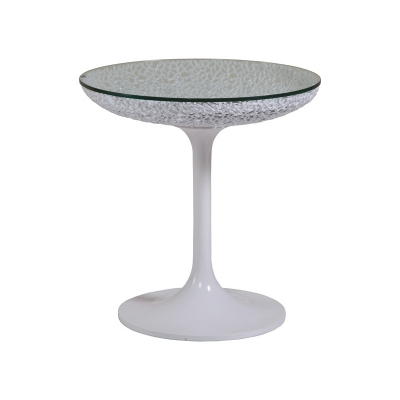 Artistica Home Round White Spot Table