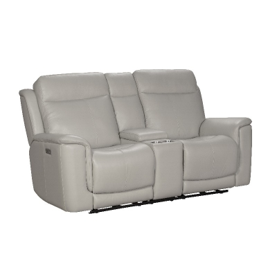 Barcalounger Leather Motion Sofa