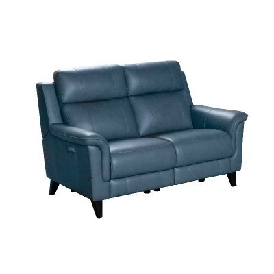 Barcalounger Leather Motion Loveseat