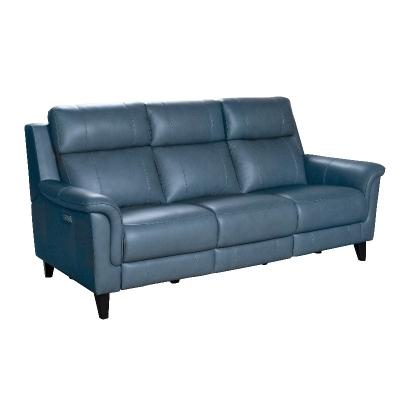 Barcalounger Leather Motion Sofa
