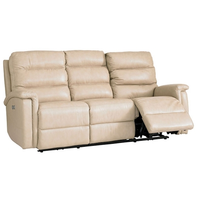 Bassett Regency Leather Loveseat