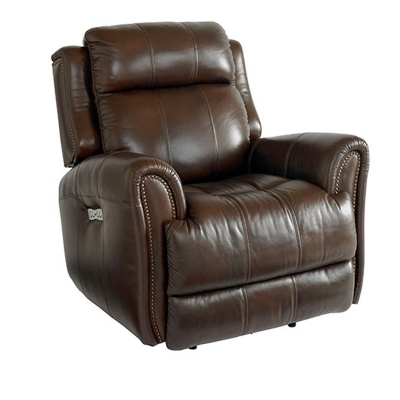 Bassett Marquee Leather Recliner