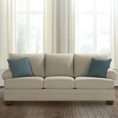 Bassett 7000 82t Custom Upholstery Large Great Room Sofa