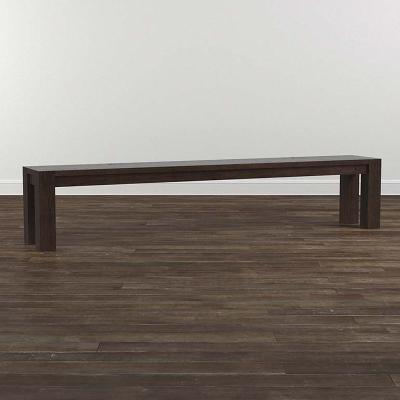 Bassett 4017 0781 Bench Made Oak 90 Inch Bench Discount Furniture At