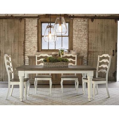 Bassett 4015 4272 Bench Made 72 Inch Farmhouse Table