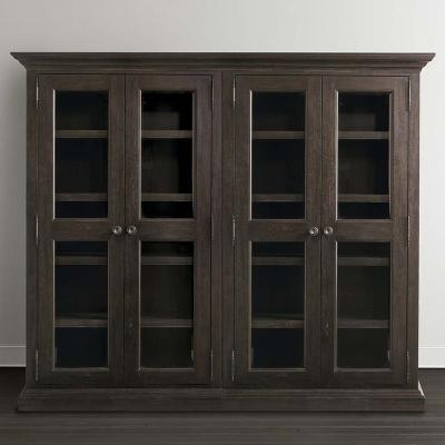 Bassett Double Display Cabinet