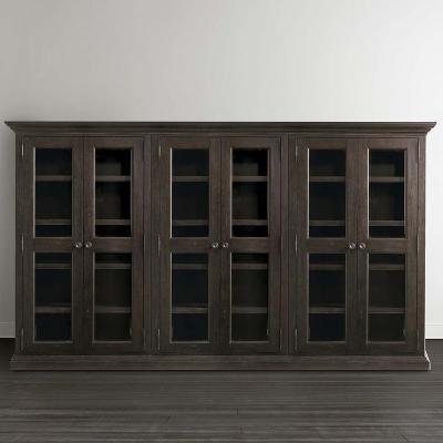 Bassett Triple Display Cabinet