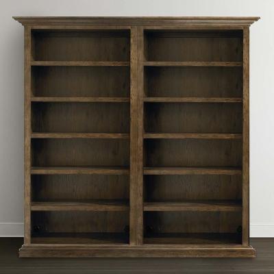 Bassett Tall Double Open Bookcase