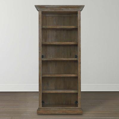 Bassett Tall Single Open Bookcase