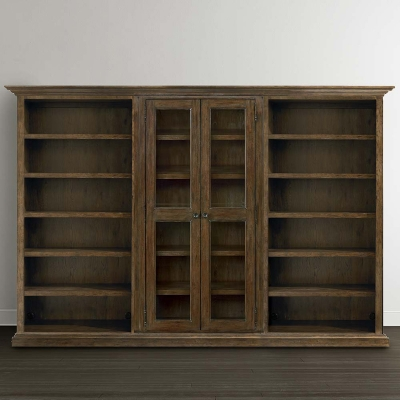 Bassett Tall Triple Storage Cabinet