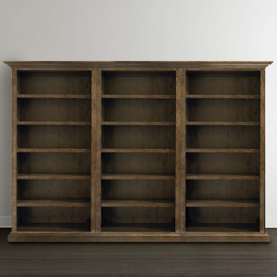Bassett Tall Triple Open Bookcase