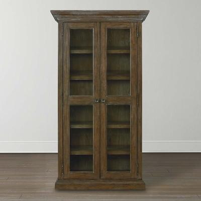 Bassett Tall Single Display Cabinet