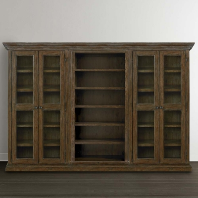 Bassett Tall Triple Storage Cabinet
