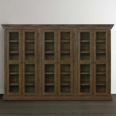 Bassett Tall Triple Display Cabinet