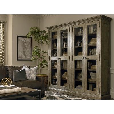Bassett Tall Double Display Cabinet