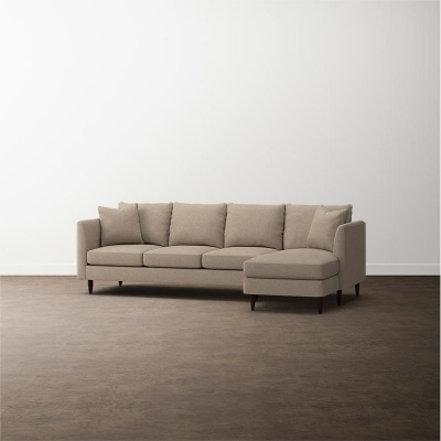 Bassett Ariana 2 Piece Right Chaise Sectional