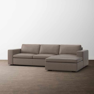 Bassett Melina 2 Piece Right Chaise Sectional