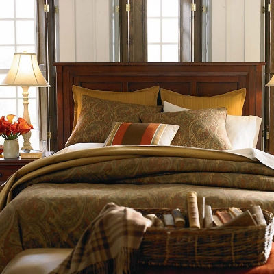 Bassett 2417 K159 Chatham Panel Bed Discount Furniture At