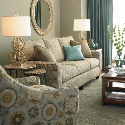 Bassett 4000 72f Custom Uph Townhouse Sofa Discount
