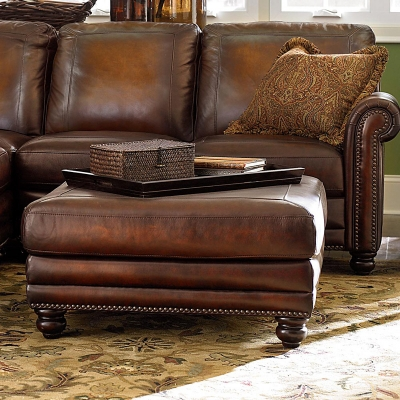 Bassett 3959 00ls Hamilton Ottoman Discount Furniture At