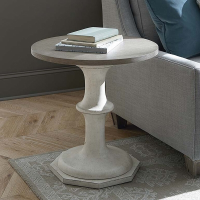Bassett Round Bedside Table