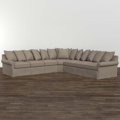 Bassett Fairmont Large L Shaped Sectional