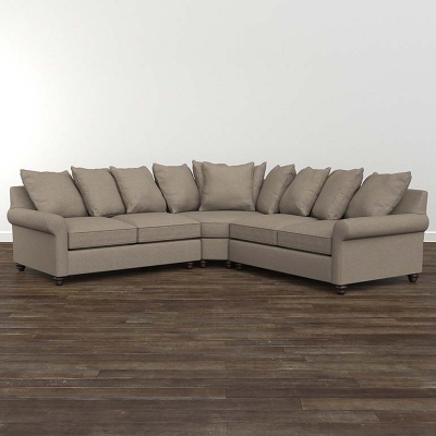 Bassett Fairmont Small L Shaped Sectional