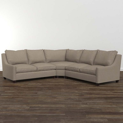 Bassett Exeter Small L Shaped Sectional