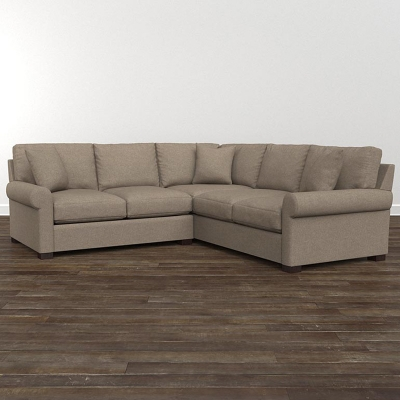 Bassett Small L Shaped Sectional