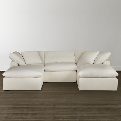 Bassett Small Double Chaise Sectional