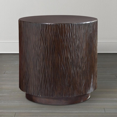Bassett Cylinder Side Table